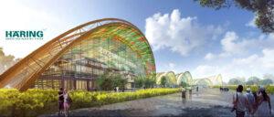 Holzbau-Chengdu-Sichuan-Agro-Expo-China