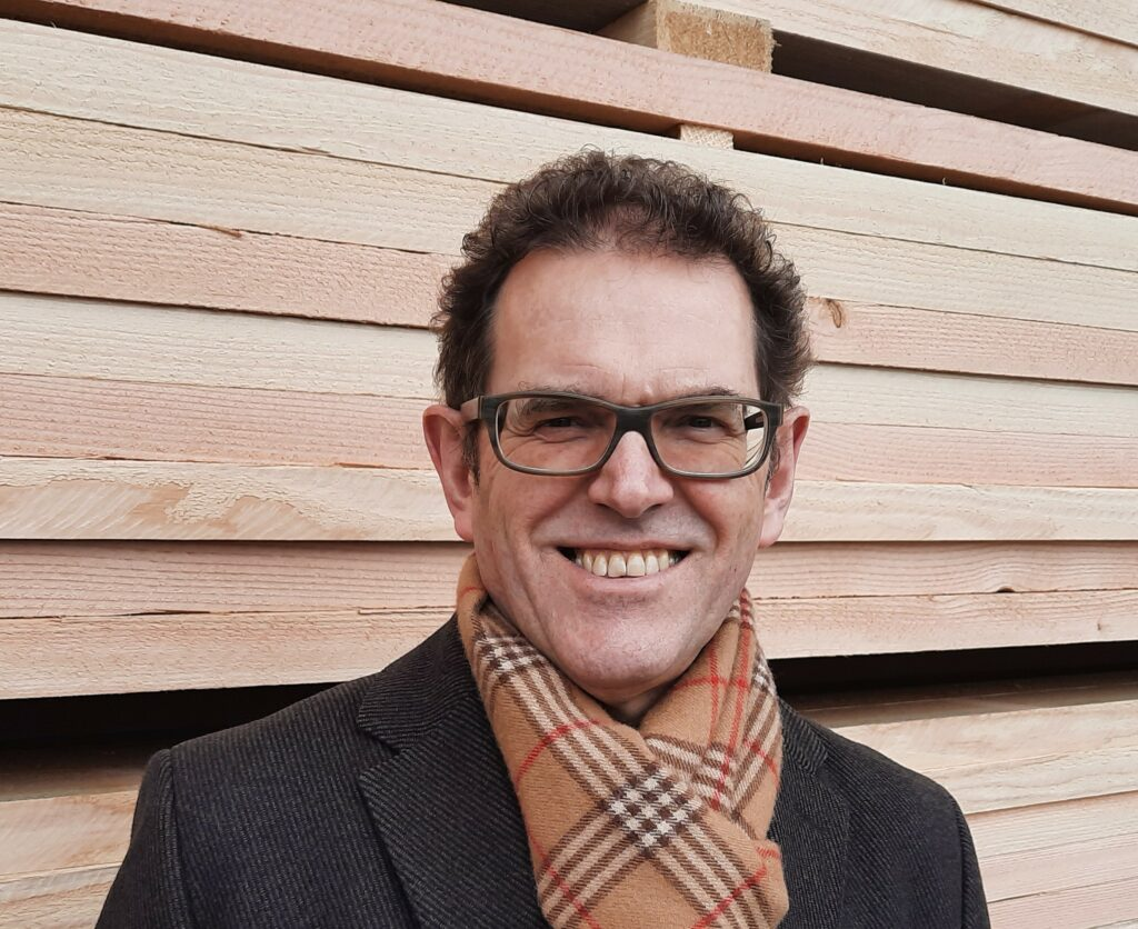 Der neue Lignum-Präsident Jakob Stark