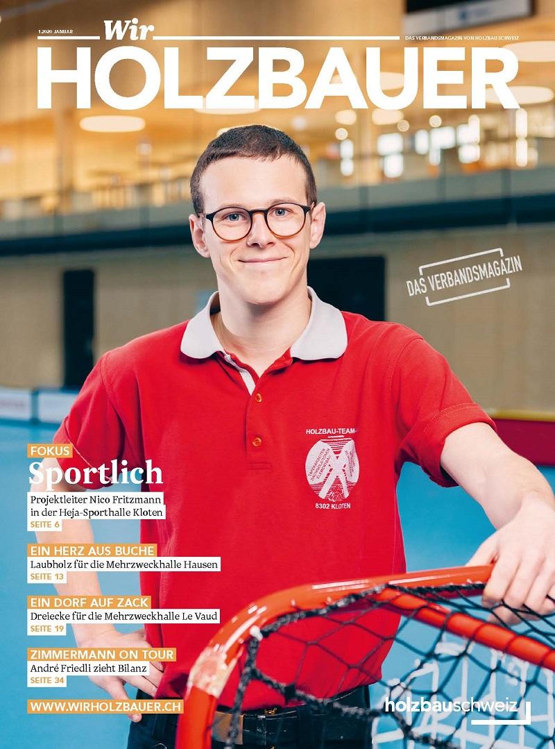 Nico Fritzmann von der Frischknecht Holzbau-Team AG.